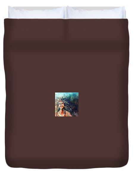 Portrait Me Duvet Cover