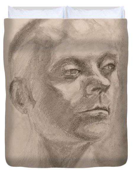 Portrait Duvet Cover