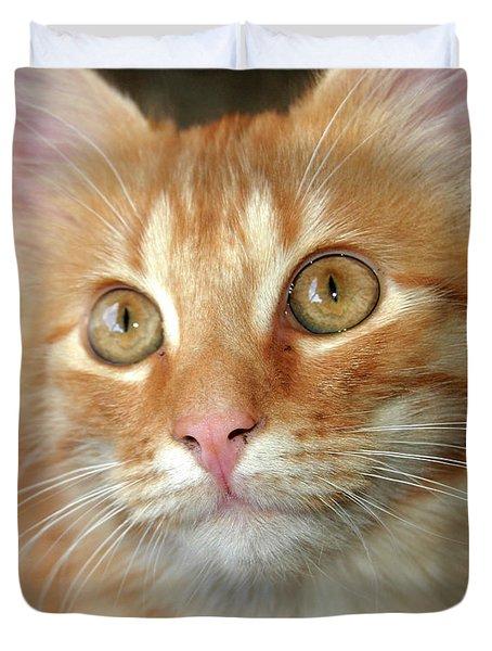 Portrait Of A Cat Duvet Cover