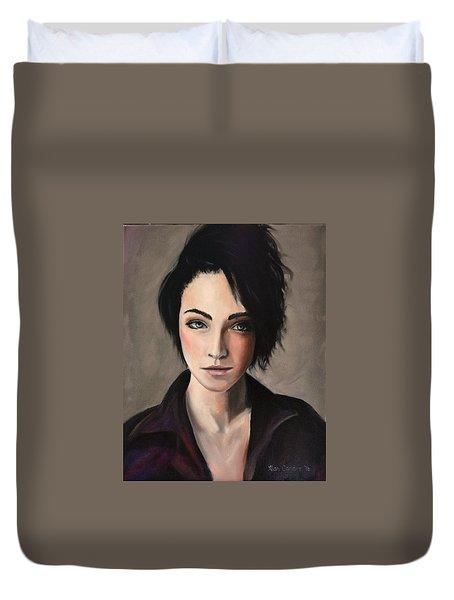 Portrait Of A Woman #2 Duvet Cover