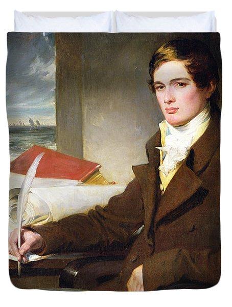 Portrait Of A Young Gentleman Duvet Cover