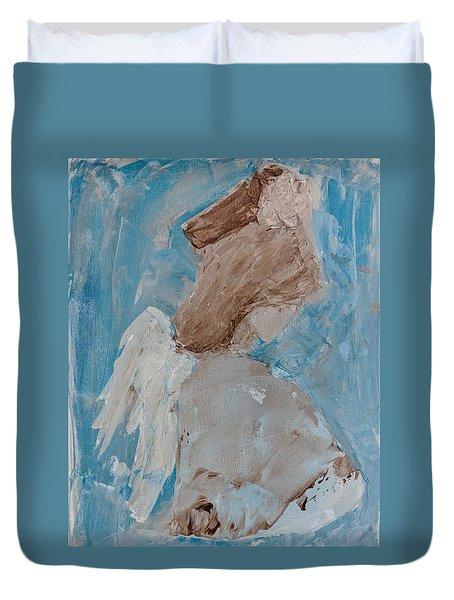 Portrait Of An Angel Duvet Cover