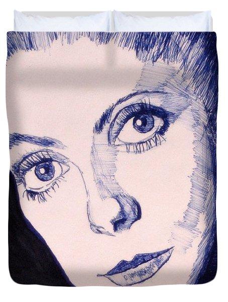 Portrait Of Catherine Duvet Cover