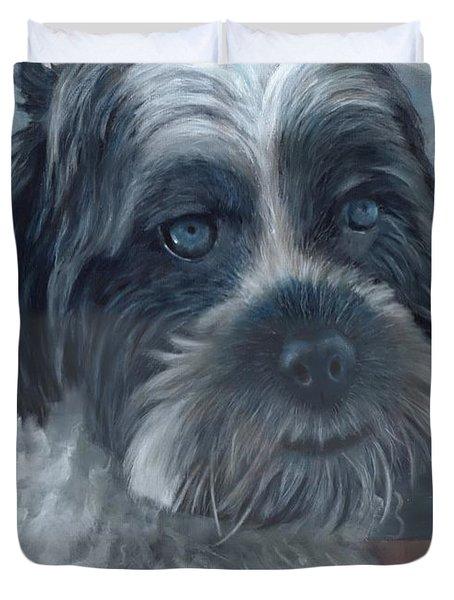 Portrait Of Charley Duvet Cover