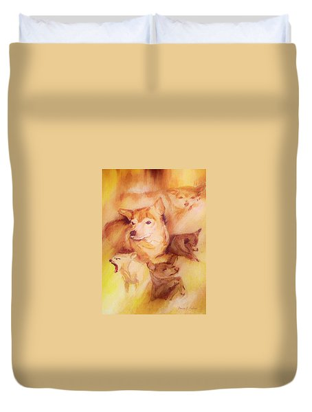 Portrait Of Chi Chi Duvet Cover