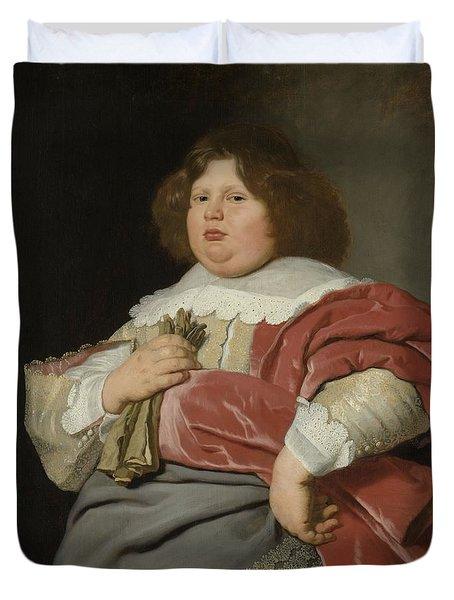 Portrait Of Gerard Andriesz Bicker, 1642 Duvet Cover