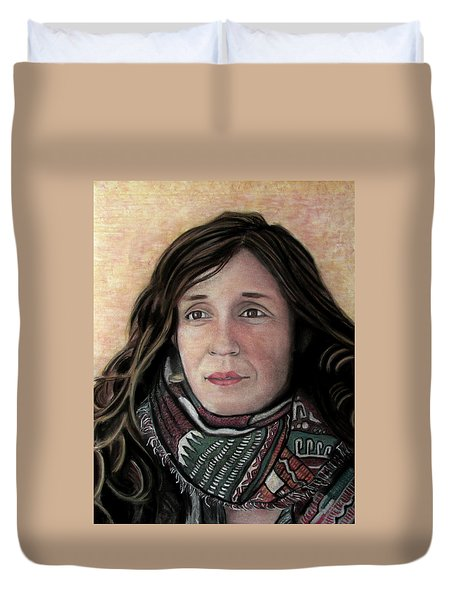 Portrait Of Katy Desmond, C. 2017 Duvet Cover