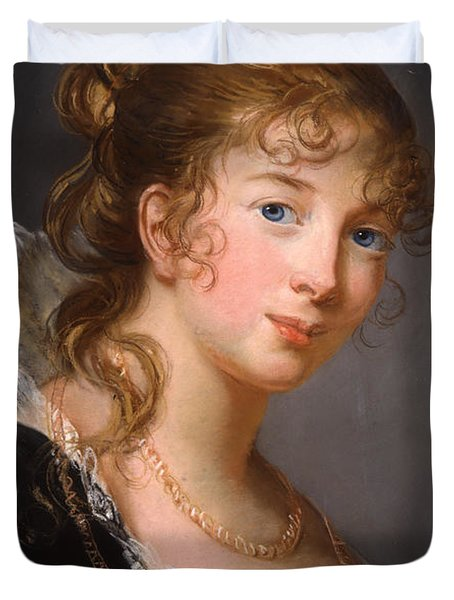 Portrait Of Louisa Princess Radziwill  Duvet Cover