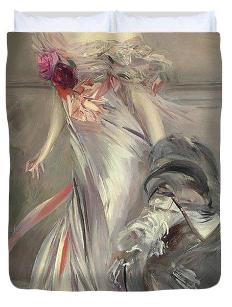 Portrait Of Marthe Regnier Duvet Cover