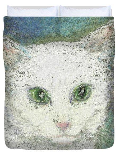 Portrait Of Misty Duvet Cover