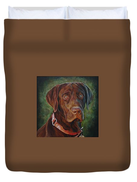 Portrait Of Remington 0094_2 Duvet Cover