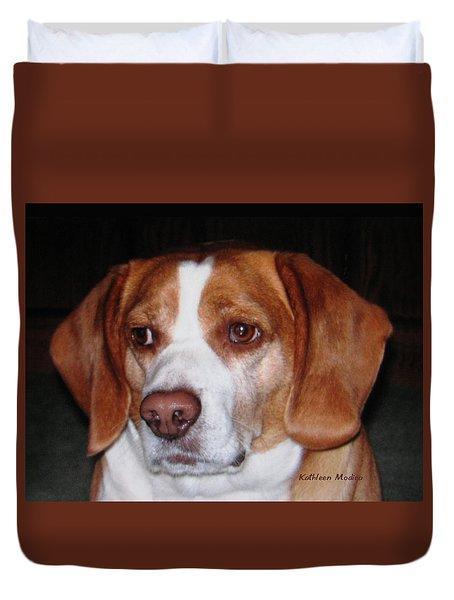Portrait Of Rusty Duvet Cover