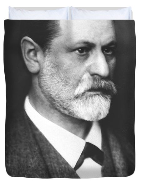 Portrait Of Sigmund Freud Circa 1900  Duvet Cover