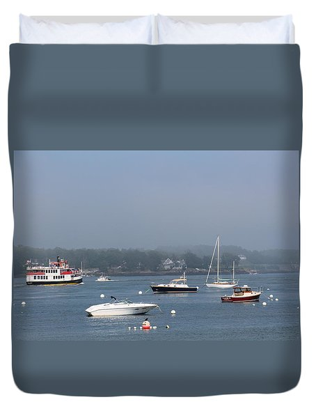 Portsmouth Harbor Nh Duvet Cover