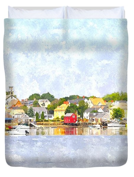 Portsmouth Nh South End Psewc Duvet Cover