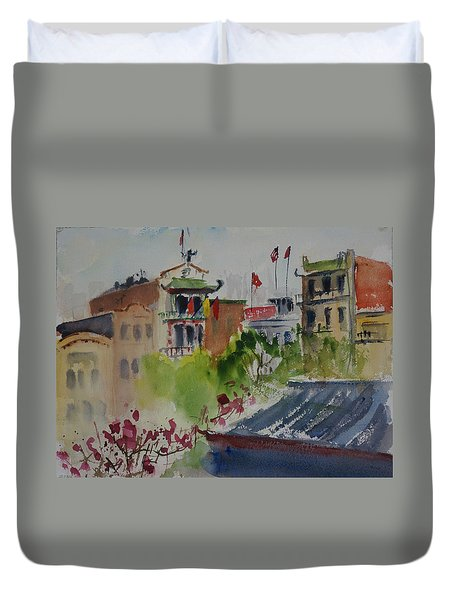 Portsmouth Square1 Duvet Cover