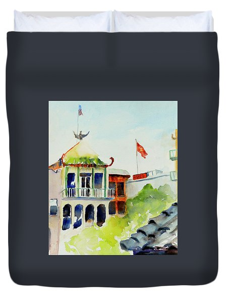 Portsmouth Square Duvet Cover