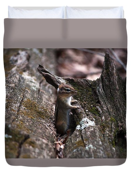Posing #1 Duvet Cover by Jeff Severson