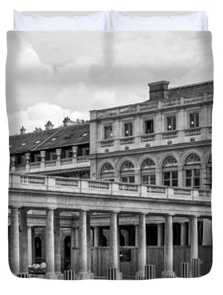 Posing For Photo Shoot At Le Palais Royal Duvet Cover