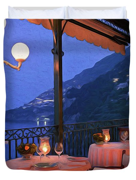 Positano, Beauty Of Italy - 05 Duvet Cover