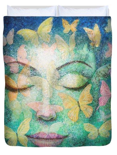 Possibilities Meditation Duvet Cover