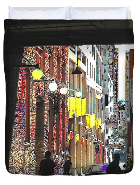 Post Alley Duvet Cover by Tim Allen