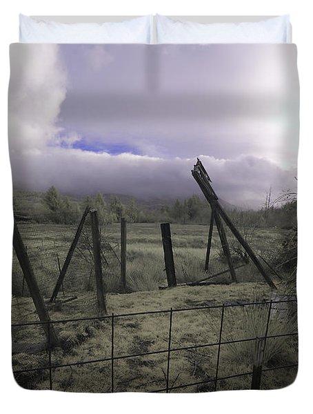 Post Storm Duvet Cover