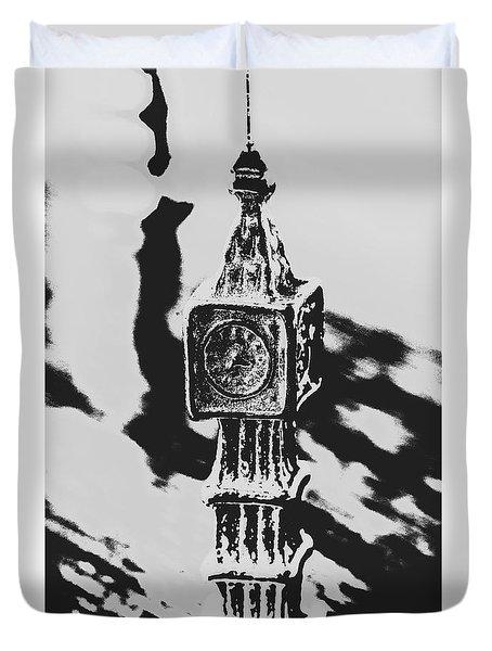 Postcards From Big Ben  Duvet Cover