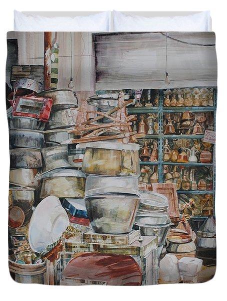 Pot-pourii Duvet Cover by P Anthony Visco