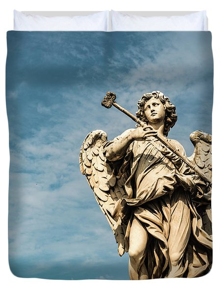 Potaverunt Me Aceto Duvet Cover by Joseph Yarbrough