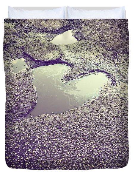 Pothole Love Duvet Cover
