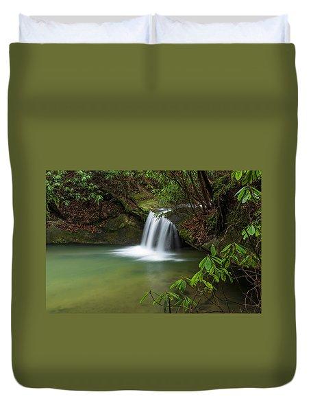 Pounder Branch Falls # 2 Duvet Cover