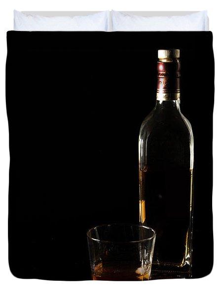 Pour Me A Glass Duvet Cover