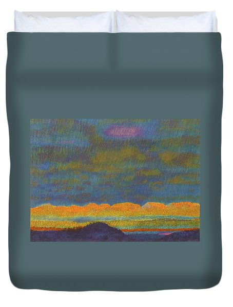 Powder River Reverie, 1 Duvet Cover