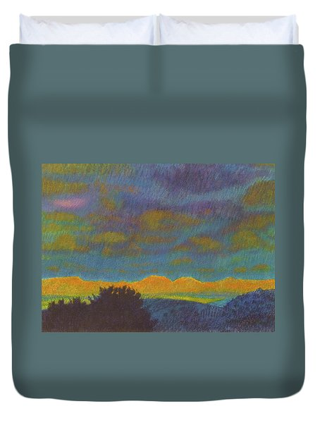 Powder River Reverie, 2 Duvet Cover