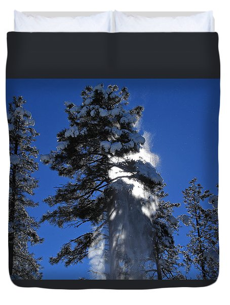 Powderfall Duvet Cover