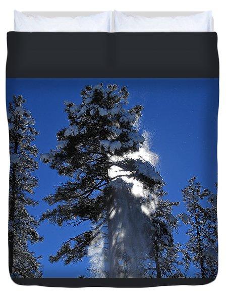 Powderfall Duvet Cover