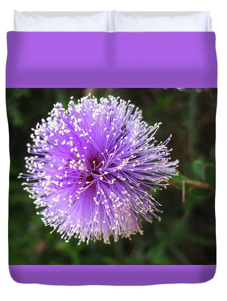 Purple Orb Duvet Cover