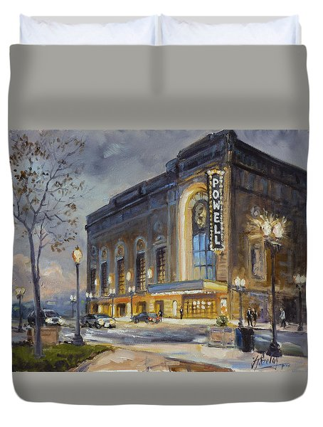 Powell Symphony Hall In Saint Louis Duvet Cover