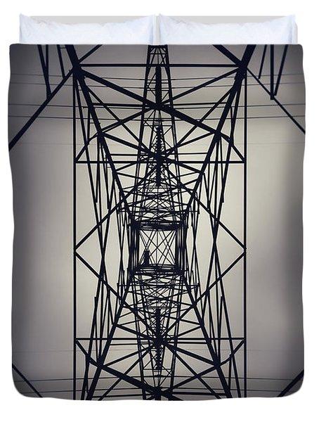 Power Above Duvet Cover