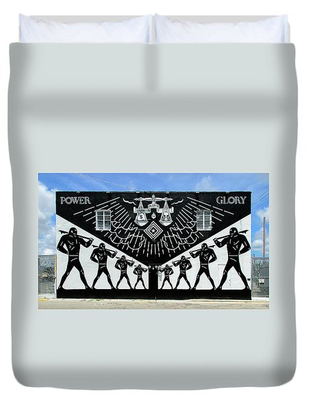 Power And Glory Duvet Cover