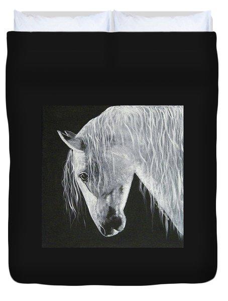 Power Horse Duvet Cover