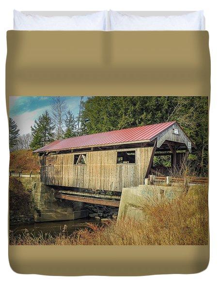 Power House Bridge Duvet Cover