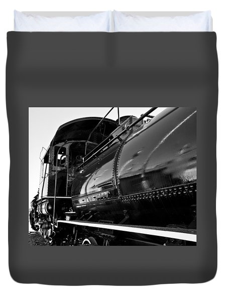 Power In The Age Of Steam 5 Duvet Cover by Dan Dooley
