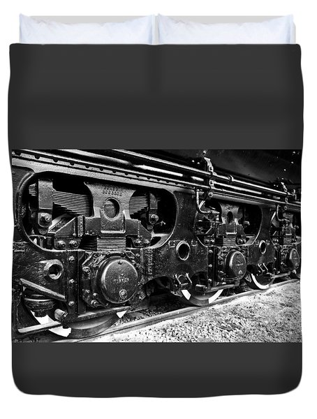 Power In The Age Of Steam 6 Duvet Cover by Dan Dooley