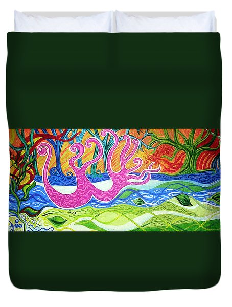 Power Of Love Duvet Cover by Genevieve Esson