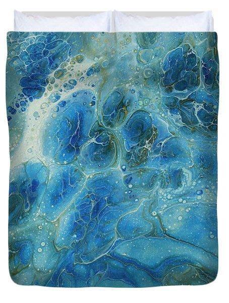 Power Of The Ocean Duvet Cover