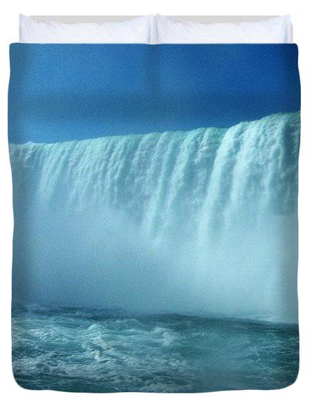 Power Of Water Duvet Cover