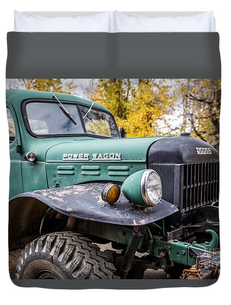 Power Wagon Duvet Cover