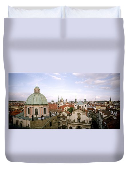 Prague Twilight Duvet Cover